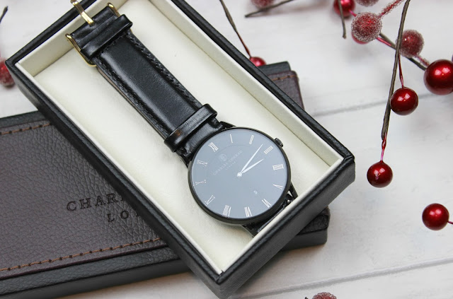 A review of Charles Conrad London All Black Leather Watch