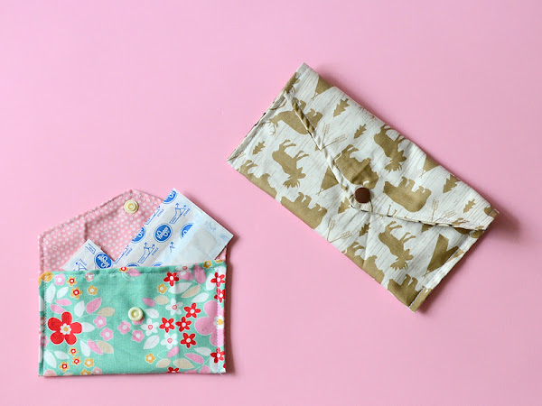DIY Envelope Pouch Easy Sewing Tutorial