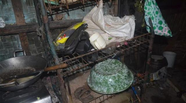 Sangat Memilukan, Janda Tuna Wisma Beranak 10 di Ciamis