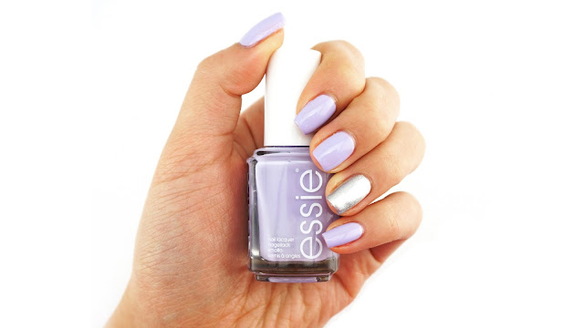Essie Virgin Snow Apres-chic Swatch