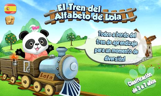 tren del alfabeto de lola app