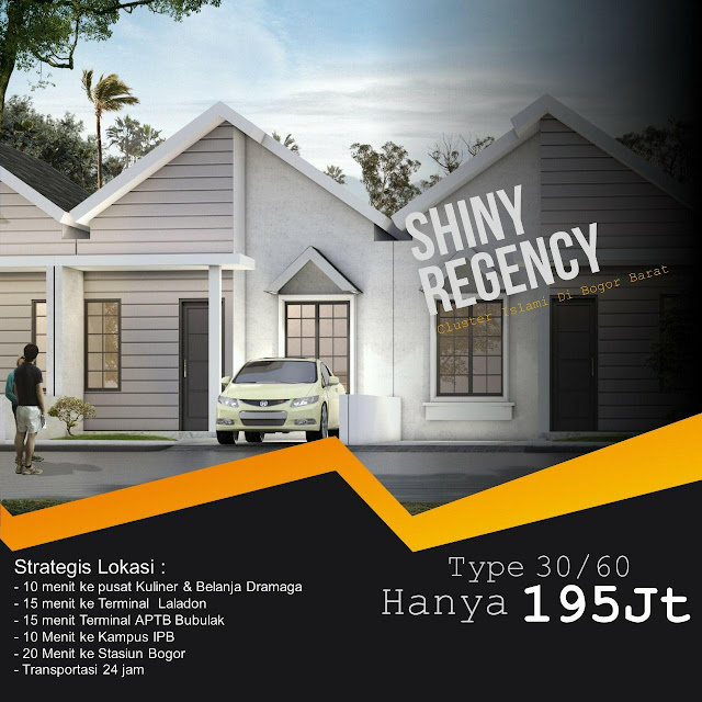 The Shiny Regency, Perumahan Syariah 200 jtaan Dekat Kampus Ipb Bogor