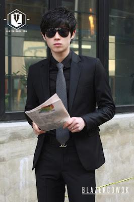 blazer cowok blazercowok.com jaket korean jas pria bk01 i