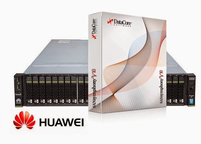 Huawei und DataCore beschließen weltweite Partnerschaft für hyper konvergente Lösungen