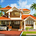 Kerala Style Traditional House - 2000 sq. ft.
