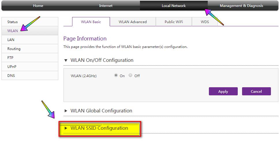 إغلاق WPS في الراوتر WE الجديد