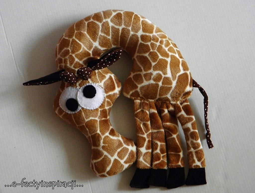przytulanka dla dziecka żyrafa
