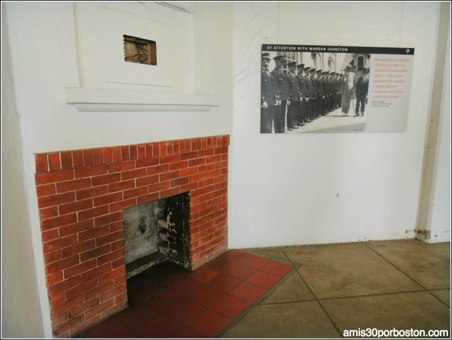 La Prisión de Alcatraz: Oficina del Alcaide