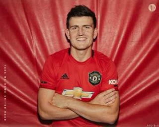 Man Utd Make Harry Maguire Most Expensive Defender Ever