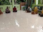 Bhabinkamtibmas Polsek Langsa Timur  Hadiri Rapat Koordinasi Terkait Posko PPKM Berbasis Mikro