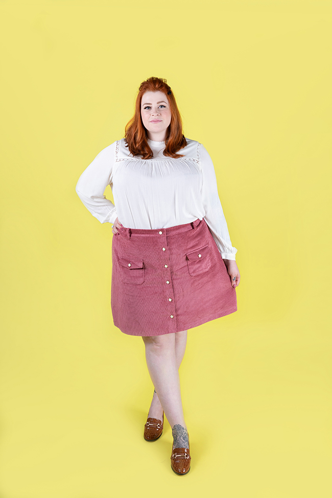 Bobbi skirt and pinafore - Tilly and the Buttons