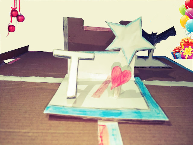 The star, my special DIY project for my best friend, gift idea for birthdays and holidays