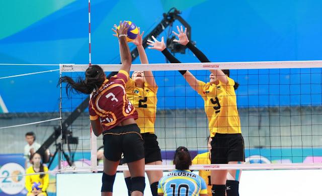 Cúp các CLB nữ vô địch châu Á 2018: VTV Bình Điền Long An lại thắng Lanka Lions