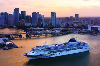 Norwegian Cruise Line Norwegian Sky in Miami; will sail to Cuba, Havana