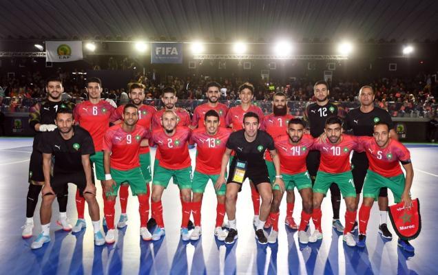 L'équipe de futsal offre au Maroc la première victoire en Coupe du monde, 'Lituanie'