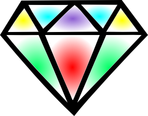 Diamante ilustração - Criação Blog PNG-Free