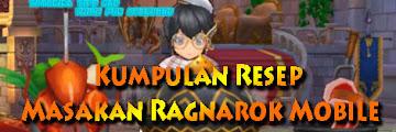 Kumpulan Resep Masakan Ragnarok Mobile Terbaru Lengkap