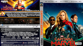 CAPITANA MARVEL – CAPTAIN MARVEL – 2019 [COVER – 4KUHD]
