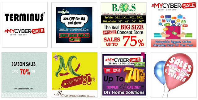 Some bad #MYCYBERSALE banner design examples