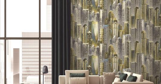 Jual Wallpaper Dinding Di Serang Banten dengan model klasik atau minimalis