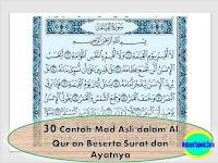 30+ Contoh Mad Asli dalam Al Qur'an Beserta Surat dan Ayatnya