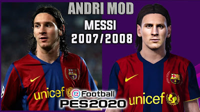 PES 2020 Faces Lionel Messi by Andri Mod