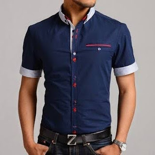 Men's Slim Fit Cotton Solid Casual Shirts
