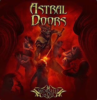 "Το βίντεο των Astral Doors για το ""Night of The Hunter"" από το album ""Worship or Die"""