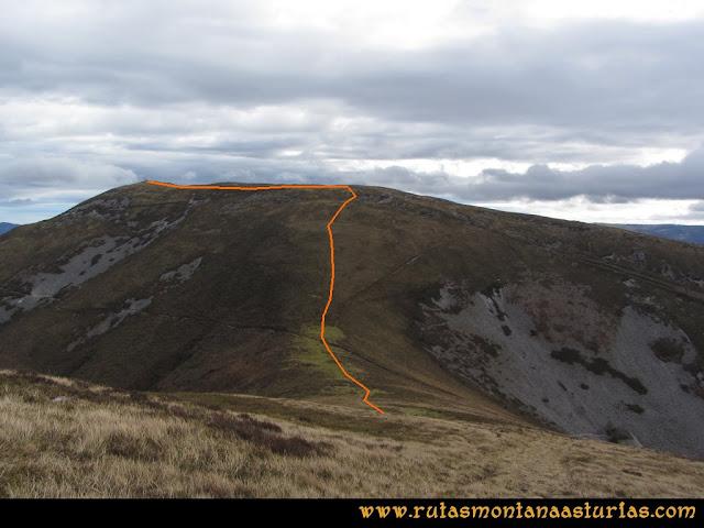 Ruta Alto Aristebano, Estoupo, Capiella Martín: Bajada del Estoupo