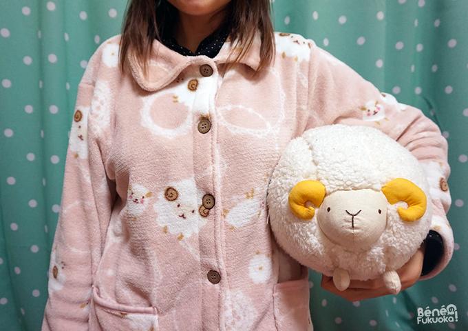 Pyjama mouton kawaii