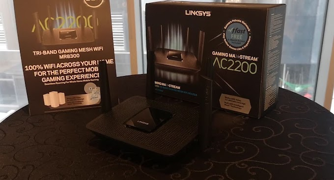 Linksys Releases MR8300 Tri-Band Mesh Router Set to Boost Mobile Gaming and Home Entertainment