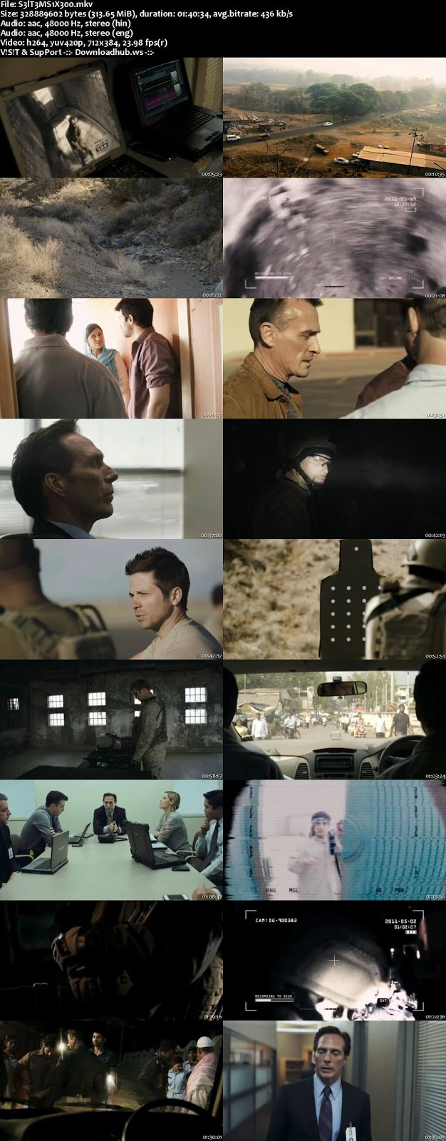 Seal Team Six The Raid on Osama Bin Laden 2012 Hindi Dual Audio 480p BluRay Free Download