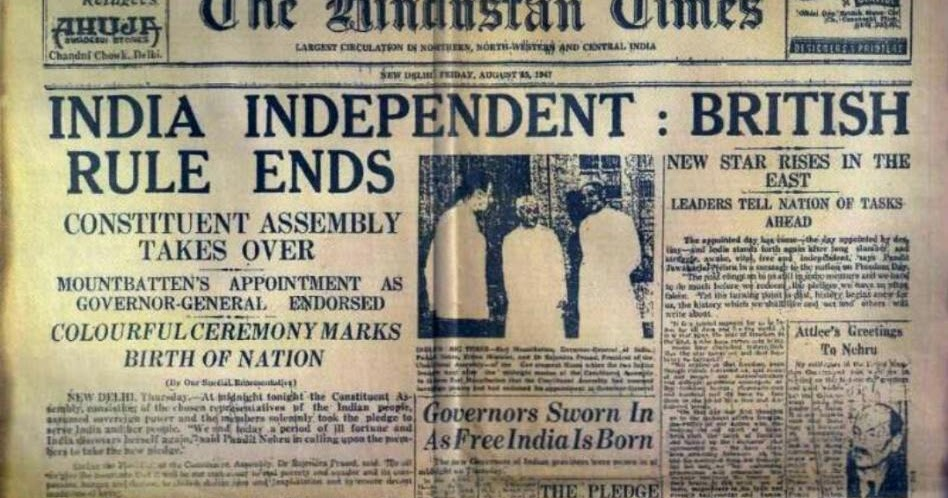 Short Essay on 15th August – The Independence Day of India