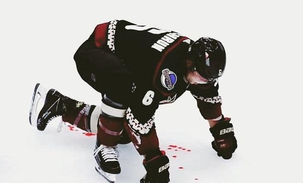 Nathan MacKinnon Jakob Chychrun NHL Injury