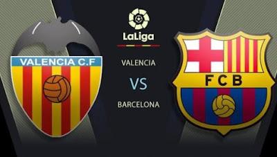 مشاهدة مباراة برشلونة ضد فالنسيا 02-05-2021 بث مباشر في الدوري الاسباني