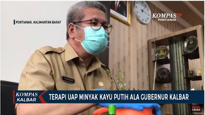 Terapi Uap Air Panas, Cara Gubernur Kalbar Pulihkan Kondisi Pasca Terpapar Covid