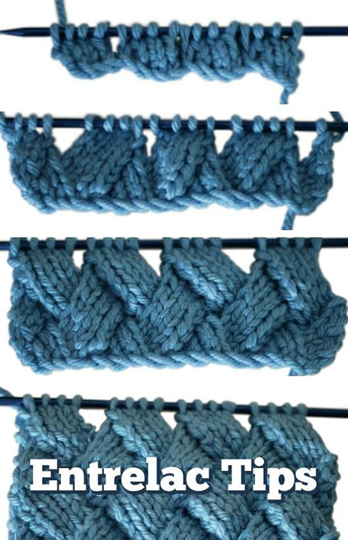 You Can Knit Entrelac - Tutorial