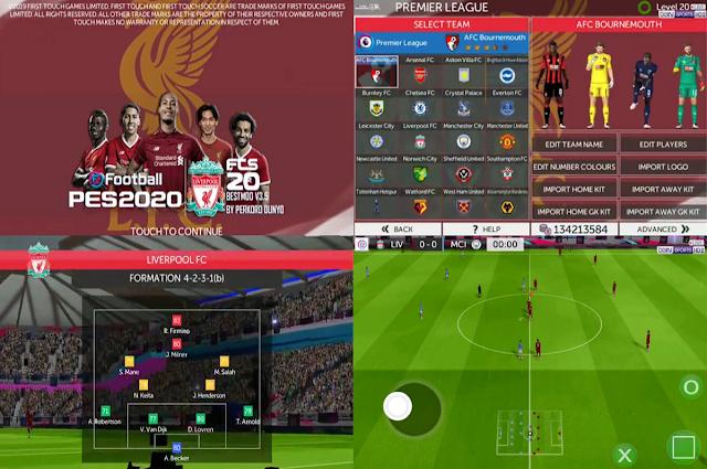 FTS 2020 Mod FIFA 2020/21