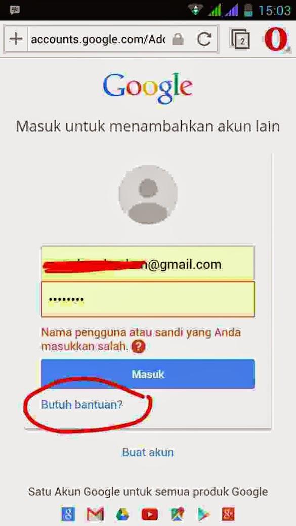 Cara Memulihkan Lupa Kata Sandi Akun Gmail Karena Lupa Sandi