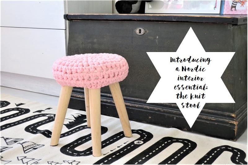 Nordic Interior Essential: Knit Stool