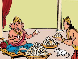 Ganesha favourite items