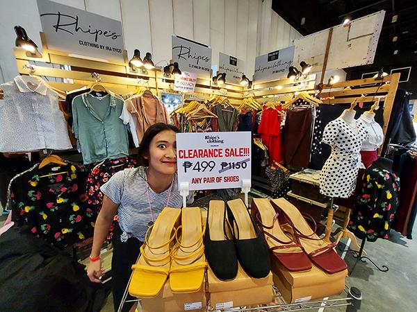 Rhipe's clothing in action (Bazaar)