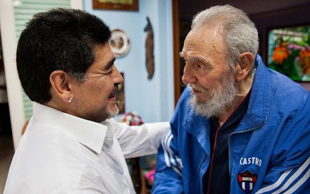 El astro del fútbol mundial lamentó el fallecimiento del dictador cubano