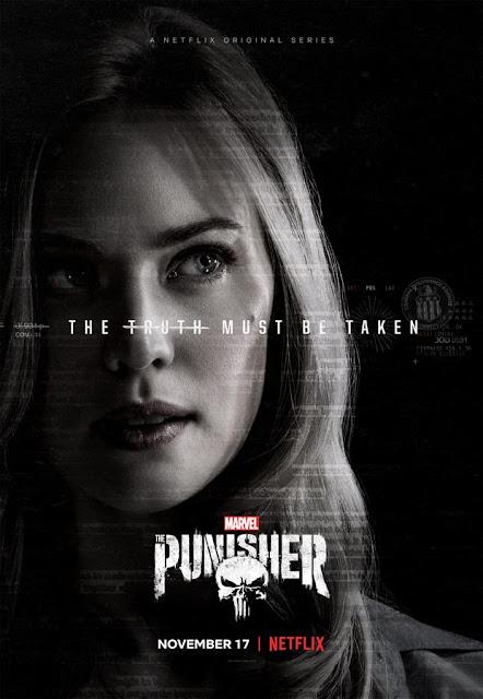 Netflix nos muestra un nuevo poster de Marvel's The Punisher protagonizado por Karen Page.