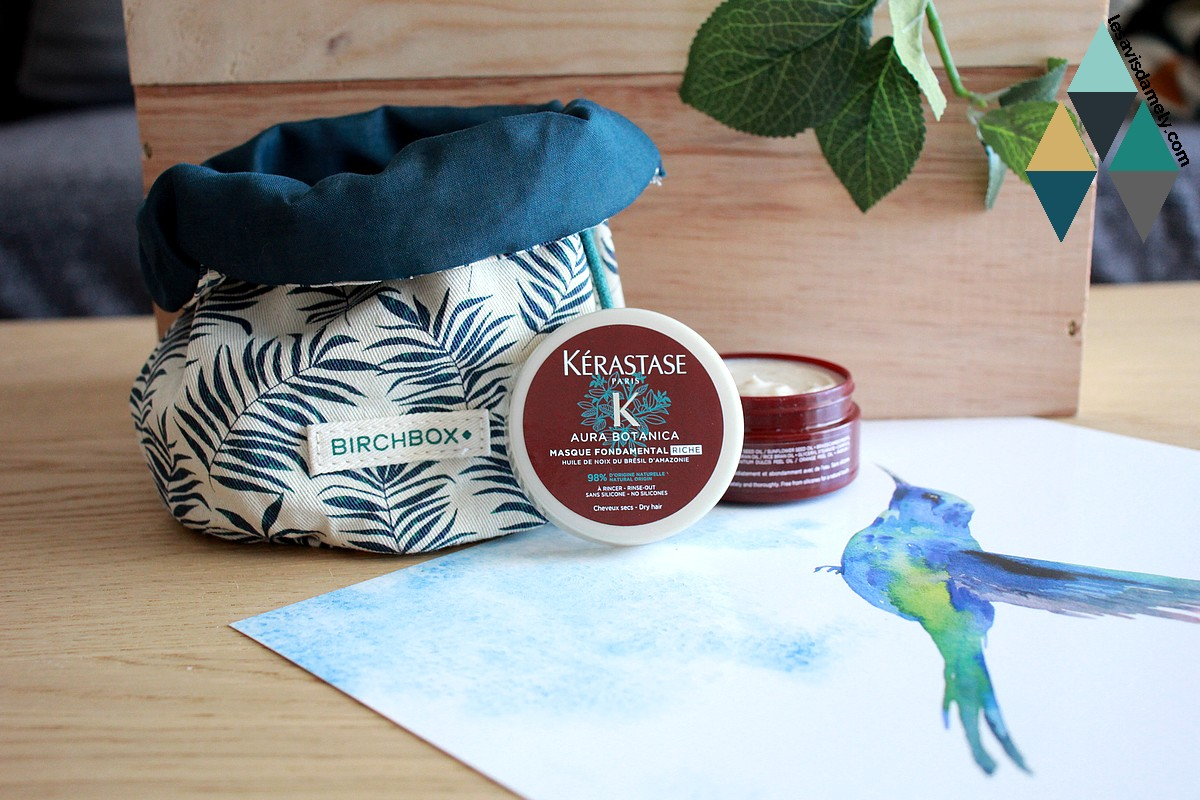 soin capillaire Aura Botanica masque fondamental riche Kérastase