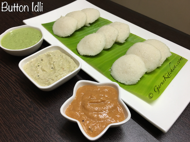 button idli recipe | rice idli recipe