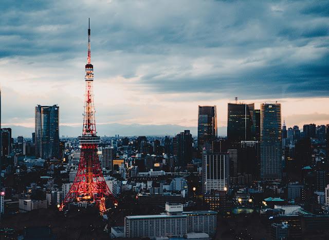 東京タワー,夜景,夕景