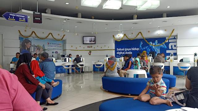 Lokasi XL Center Bandung