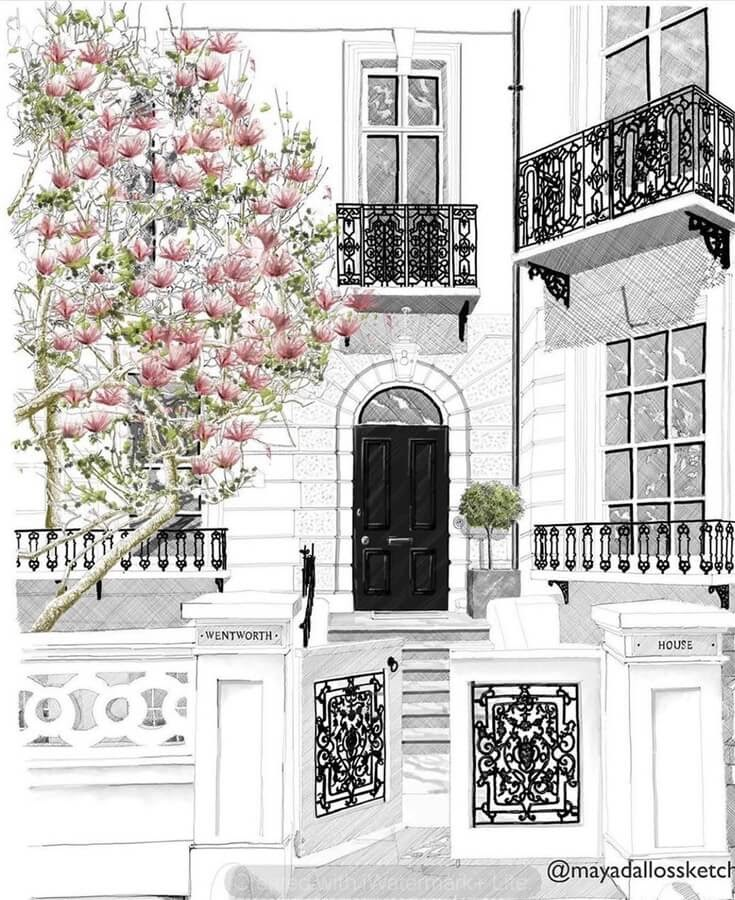 12-Notting-Hill-London-Magnolia-tree-Mayad-Allos-www-designstack-co