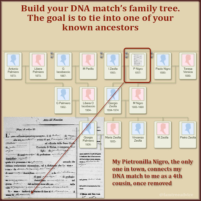 You may have to add a few generations to the tree before you find your connection.
